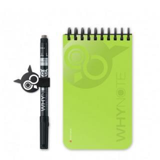 WhyNote - WhyNote Book – Pocket – Vert - Livre réutilisable