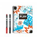 WhyNote - WhyNote Play – A5 – Carnet de jeux réutilisable - Carte réutilisable