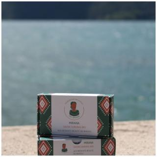 Zou Organic - Savon surgras bio aux bienfaits beauté du niaouli – MIRANA - Savon - 100 g
